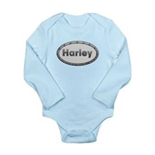 Harley Metal Oval Body Suit