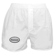 Hanson Metal Oval Boxer Shorts