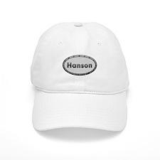 Hanson Metal Oval Baseball Baseball Cap