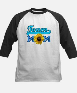 Team Mom sunflower Tee