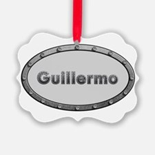 Guillermo Metal Oval Ornament