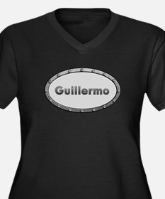 Guillermo Metal Oval Plus Size T-Shirt