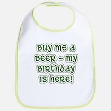 Buy Me a Beer Birthday Bib