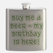 Buy Me a Beer Birthday Flask
