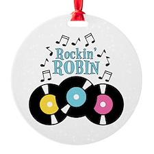 Rockin Robin Ornament
