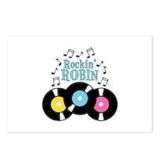 Rockin Robin Postcards (Package of 8)