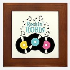 Rockin Robin Framed Tile