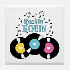 Rockin Robin Tile Coaster