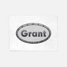 Grant Metal Oval 5'x7'Area Rug