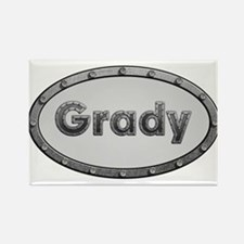 Grady Metal Oval Magnets