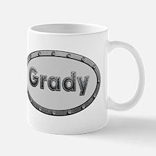 Grady Metal Oval Mugs