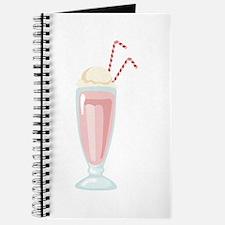 Strawberry Milkshake Journal