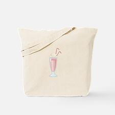 Strawberry Milkshake Tote Bag