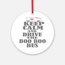 Boo Boo Bus Ornament (Round) Ornament (Round)