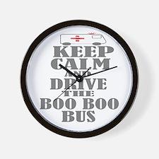 Boo Boo Bus Wall Clock