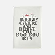 Boo Boo Bus Rectangle Magnet