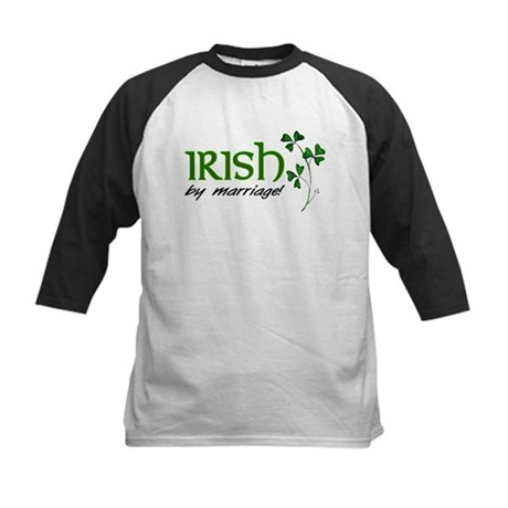 irish marriage Kids Baseball Jersey