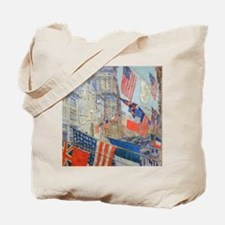 Allies Day, May, 1917 by Hassam Tote Bag
