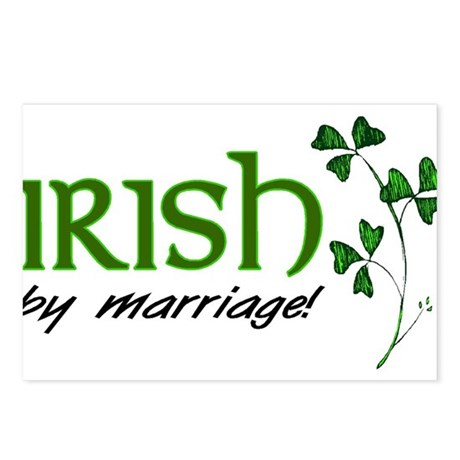 irish marriage Postcards (Package of 8)