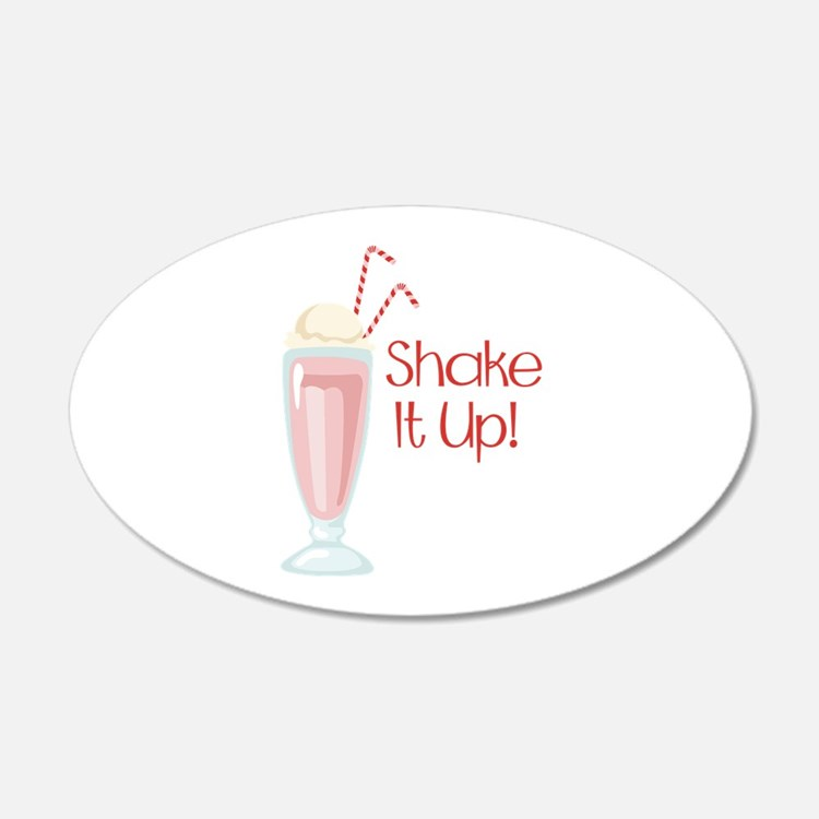 Shake it Up Wall Decal