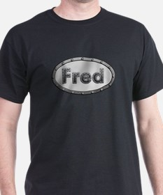 Fred Metal Oval T-Shirt
