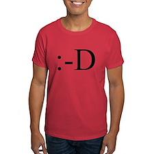 Grinning Emoticon T-Shirt