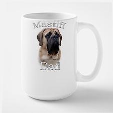 Mastiff(fawn)Dad2 Ceramic Mugs