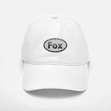 Fox Metal Oval Baseball Baseball Baseball Cap