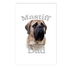 Mastiff(fawn)Dad2 Postcards (Package of 8)