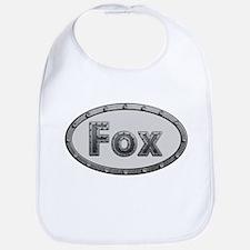 Fox Metal Oval Bib
