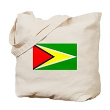 Simple Guyana Flag Tote Bag