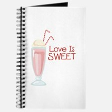 Love is Sweet Journal