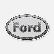 Ford Metal Oval Oval Car Magnet