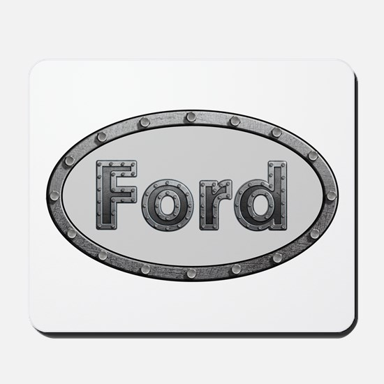 Ford Metal Oval Mousepad