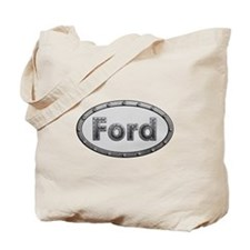 Ford Metal Oval Tote Bag