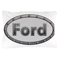 Ford Metal Oval Pillow Case