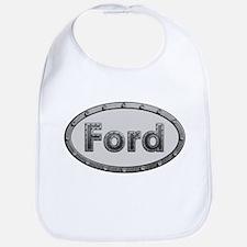 Ford Metal Oval Bib