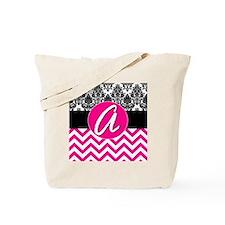 A Pink Monogram  Tote Bag