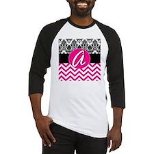 A Pink Monogram  Baseball Jersey