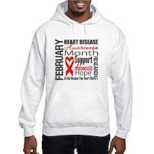 Heart Disease Support Month Hoodie
