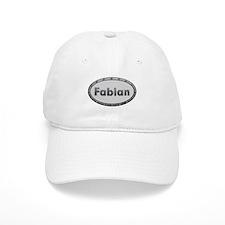 Fabian Metal Oval Baseball Baseball Cap