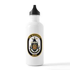 USS Wisconsin Water Bottle