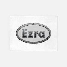 Ezra Metal Oval 5'x7'Area Rug
