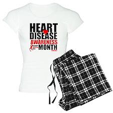 February Heart Disease Pajamas