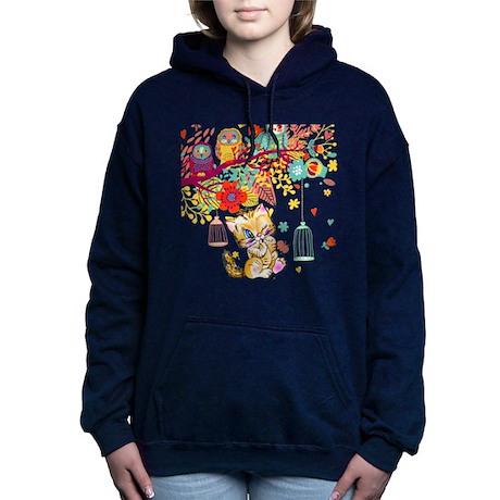 A Kitty World Away Hooded Sweatshirt