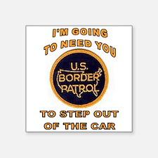 BORDER STOP Sticker