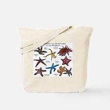 Starfish & Seastars of the World Tote Bag