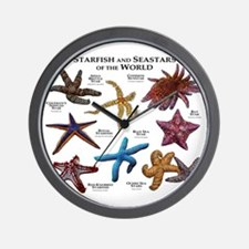 Starfish & Seastars of the World Wall Clock