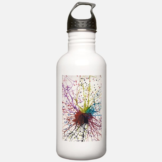 Neural Love Water Bottle