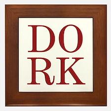 DORK Framed Tile